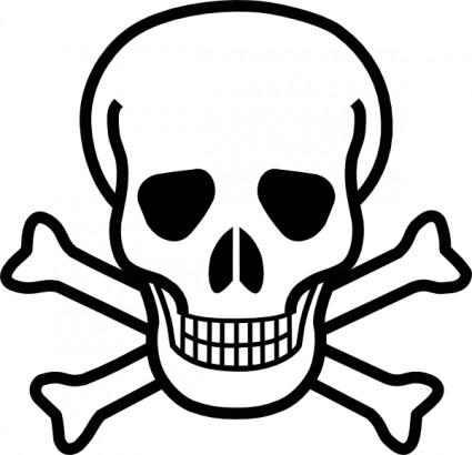 Skull And Crossbones logo vector logo