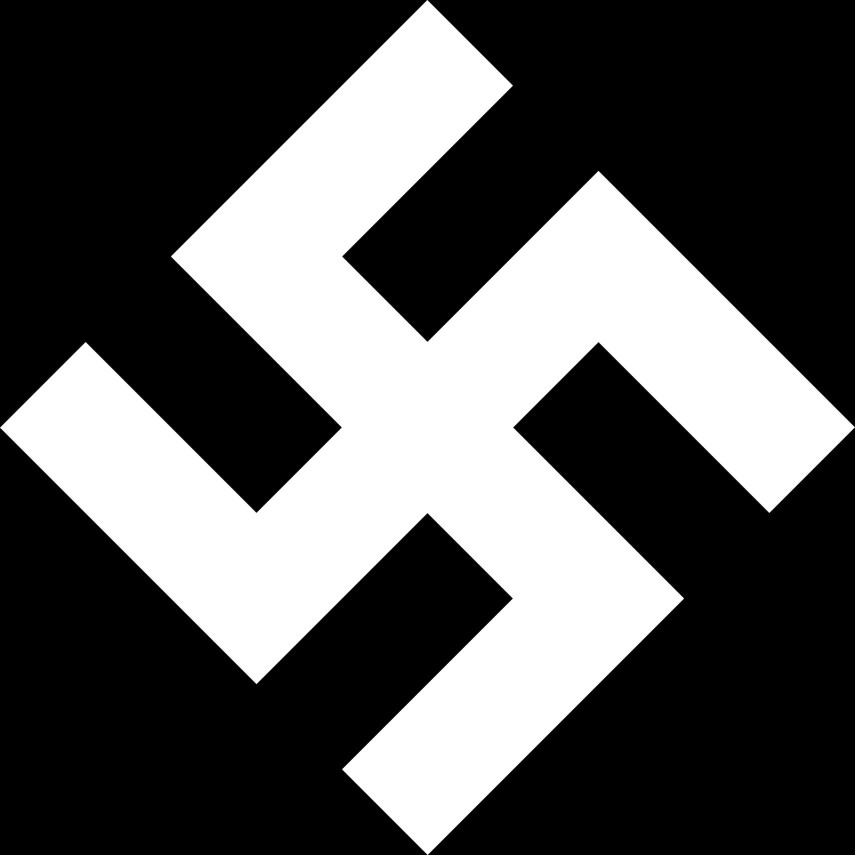 Swastika logo vector logo