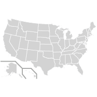 United States Map logo