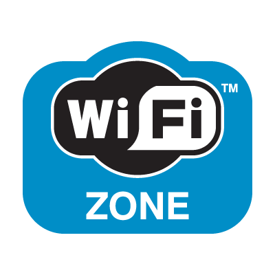 WiFi Zone  logo vector logo