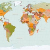 World Map Vector logo