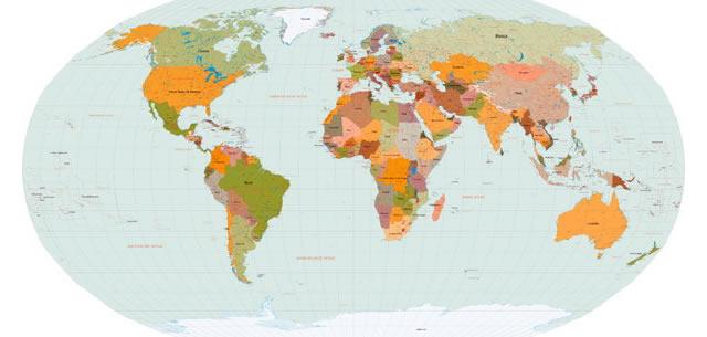 World Map Vector logo vector logo
