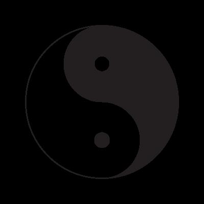 Yin & Yang vector logo