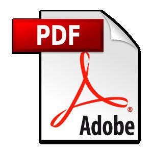 Adobe PDF logo vector logo