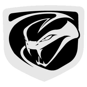 Dodge Viper 2012 logo vector logo