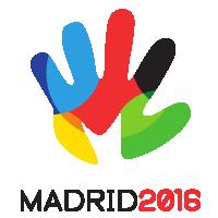 Madrid 2016 logo vector
