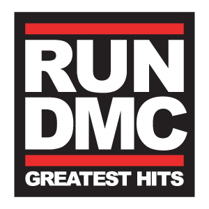 Run DMC logo vector logo