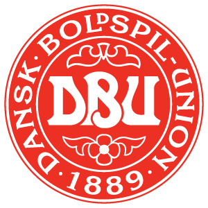 Denmark football team logo vector logo
