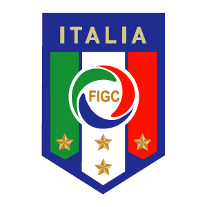 Italy national football team logo vector logo