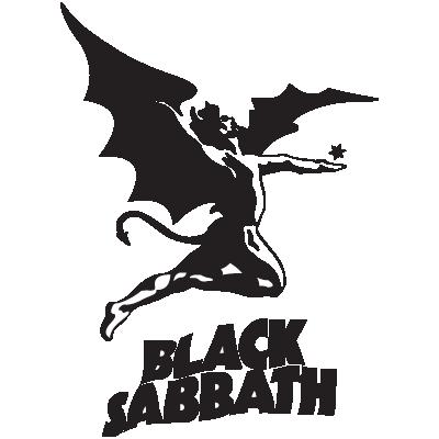 Black Sabbath logo vector logo