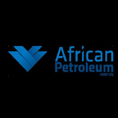 African petroleum logo vector logo