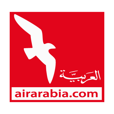 Air arabia logo vector logo