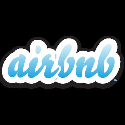 Airbnb logo vector logo