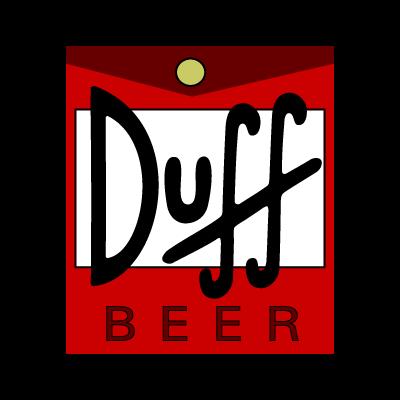 Duff Beer logo vector logo