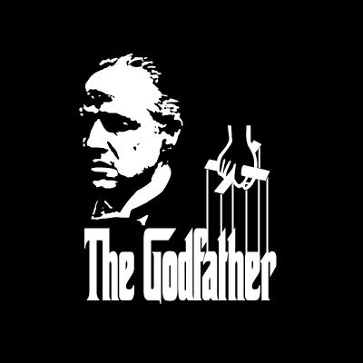 Godfather logo vector logo