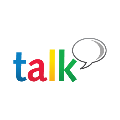 Google Talk logo vector logo