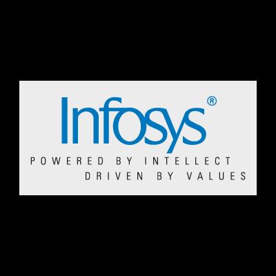 Infosys logo vector logo