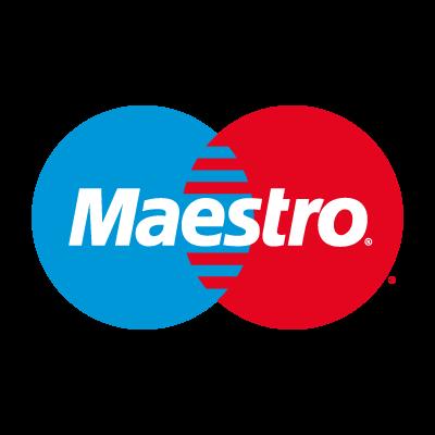 Maestro Card logo vector logo