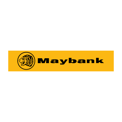 Maybank logo vector logo