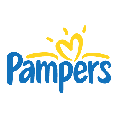 Pampers logo vector logo