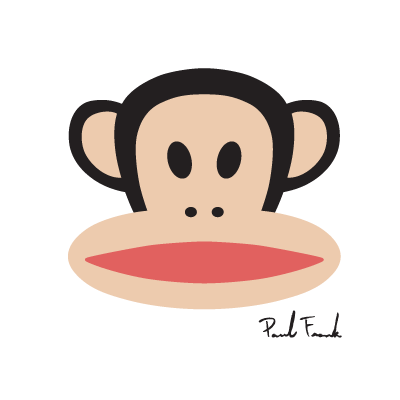 Paul Frank Monkey logo vector logo