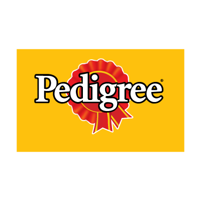 Pedigree logo vector logo