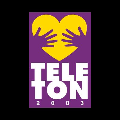 Teleton logo vector logo