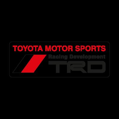 TRD logo vector logo