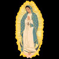 Virgen de Guadalupe vector