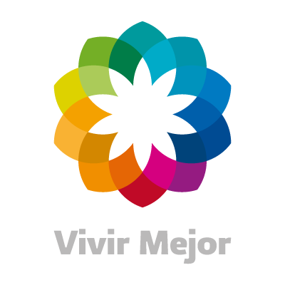 Vivir Mejor Cuadro logo vector logo