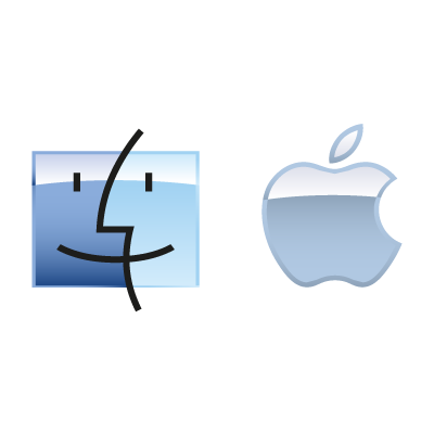 Apple Mac OS logo vector logo