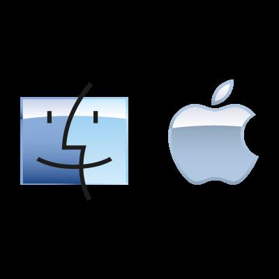 Apple Mac OS logo vector logo