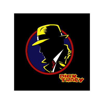 Dick Tracy vector logo