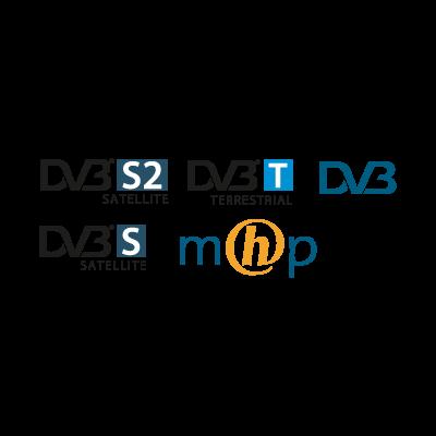 DVB logo vector logo