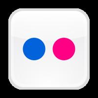 Flickr button logo