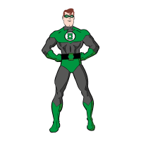 Green Lantern Film vector