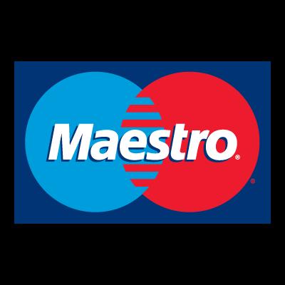 Mastercard Maestro logo vector logo