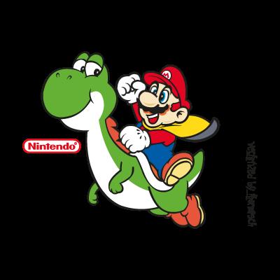 Super Mario World vector logo