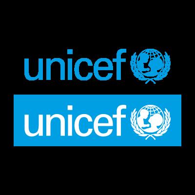 Unicef cyan logo vector logo
