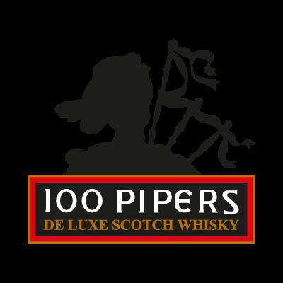 100 Pipers logo vector logo