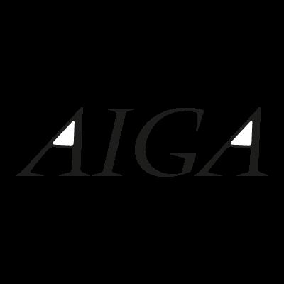 Aiga logo vector logo