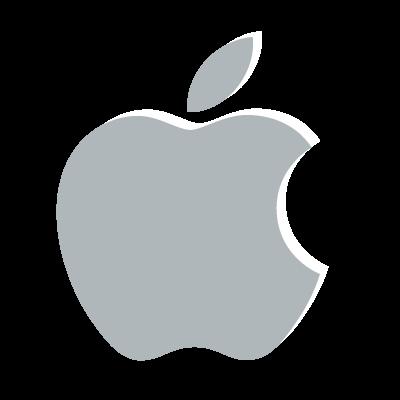 Apple classic logo vector logo