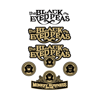 Black Eyed Peas logo vector logo
