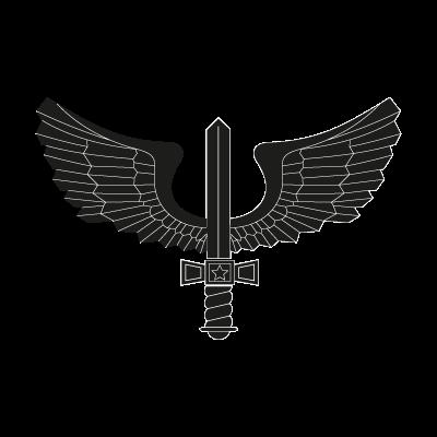 Brazilian Air Force black logo vector logo