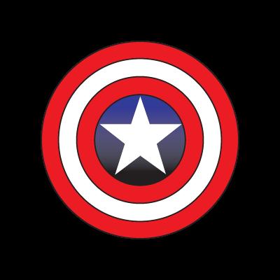 Captain America logo vector logo