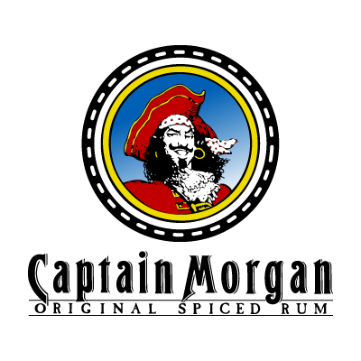 Captain Morgan Rum logo vector