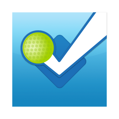 Foursquare button logo vector logo