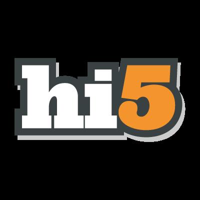 Hi5 logo vector logo
