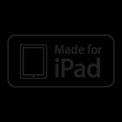Made for iPad logo vector logo
