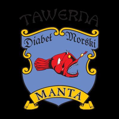 Manta logo vector logo